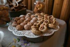 Walnut cookies Stock Photography