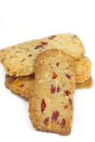 Walnut Cranberry Christmas Cookies Royalty Free Stock Images