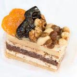 Walnut dessert Stock Photos