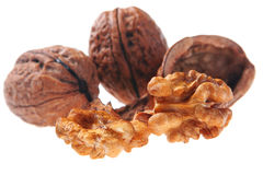 Walnut detail Royalty Free Stock Photo