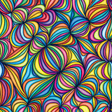 Walnut drawing style seamless pattern. Illustration walnut shape drawing abstract seamless pattern colorful bright texture wallpaper royalty free illustration
