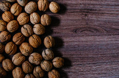 Walnut. In everyday life and nature Royalty Free Stock Image
