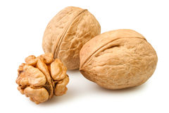 Walnut group Royalty Free Stock Photo