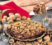 Walnut Halwa Stock Photo
