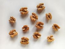 Walnut a Healthy and Nutritious Dry Fruit. Walnut a healthy and essential Nutritious Dry Fruit Royalty Free Stock Images