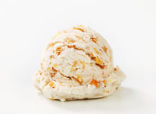 Walnut ice cream Stock Image