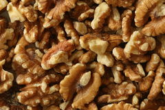 Walnut Kernels Royalty Free Stock Photography