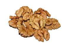 Walnut kernels Stock Image