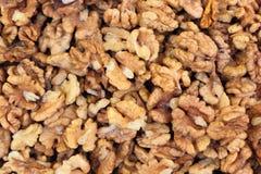 Walnut kernels. Stock Photos