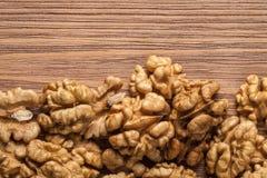Walnut kernels Stock Images