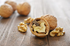 Walnut kernels Royalty Free Stock Image