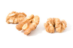 Walnut or nut core food Royalty Free Stock Images
