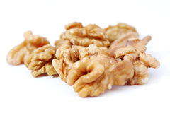 Walnut or nut core food Stock Photo