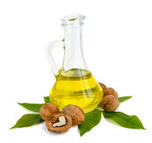 Walnut oil Stock Images