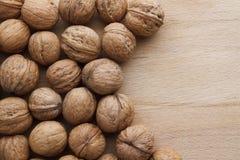 Free Walnut On Wooden Background Royalty Free Stock Photo - 44779985