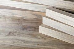 Walnut planks Royalty Free Stock Photo