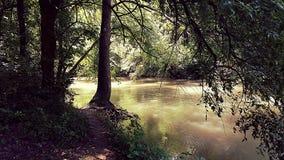 Walnut River stock image