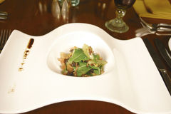 Walnut salad Royalty Free Stock Image