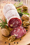 Walnut Salami Royalty Free Stock Images