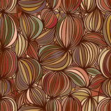 Walnut seamless pattern Royalty Free Stock Photo