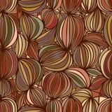 Walnut seamless pattern Royalty Free Stock Photo