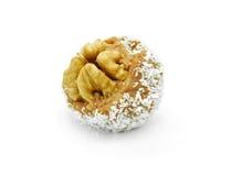Walnut seed praline Stock Images