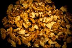 Walnut seeds background Royalty Free Stock Images