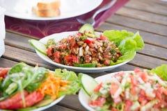 Walnut Shepherd Salad Royalty Free Stock Photo