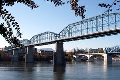 Walnut Street Bridge Royalty Free Stock Photos