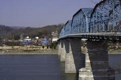 Free Walnut Street Bridge And Coolidge Park Stock Image - 5367801