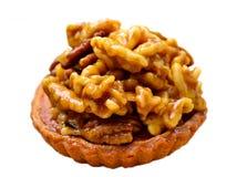Walnut tart Royalty Free Stock Photography