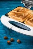 Walnut toast Stock Photos