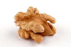 Walnut on white Stock Photo