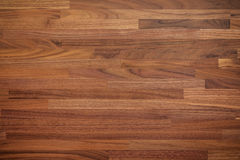Walnut wood table background Royalty Free Stock Photography