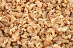 Walnuts. A closeup of protein filled healthy walnuts Stock Photos