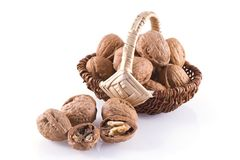 Walnuts. Royalty Free Stock Images