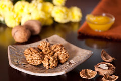Walnuts Royalty Free Stock Images