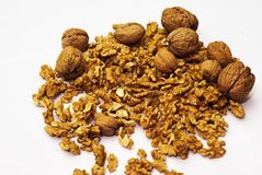 Free Walnuts Royalty Free Stock Image - 35734106