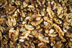 Walnuts background Stock Images