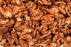 Walnuts background Stock Photography