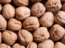 Walnuts background Stock Photo