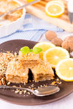 Walnuts baklava Royalty Free Stock Images