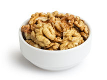 Walnuts in bowl Stock Photos