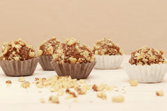 Walnuts candies Royalty Free Stock Image