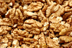 Walnuts close-up Royalty Free Stock Photography
