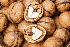 Walnuts close up Royalty Free Stock Image
