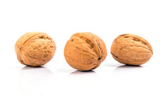 Walnuts close up Stock Photo