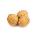 Walnuts in closeup Royalty Free Stock Photos