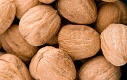 Walnuts in closeup Stock Photos