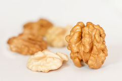 Walnuts composition Royalty Free Stock Images